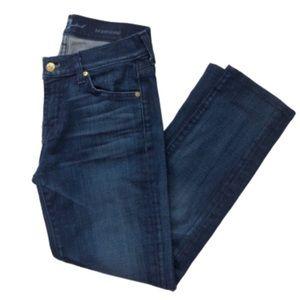 7FAMK Roxanne Jeans Skinny Crop size 26